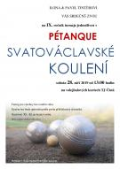 IX. ročník turnaje jednotlivců v PÉTANQUE SVATOVÁCLAVSKÉ KOULENÍ 1