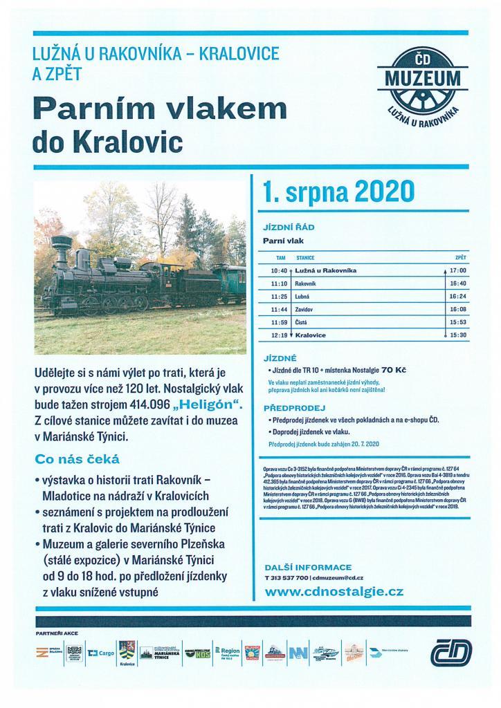Parním vlakem do Kralovic
