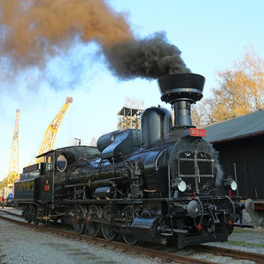 Parní vlak do Kralovic