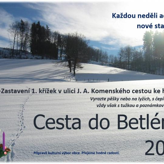 Cesta do Betléma 2020 1